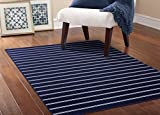 Garland Rug Avery Area Rug, 5 x 7.5, Navy Review