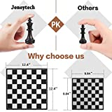 Magnetic Chess Set for Kids and Adults, 12.5 inch