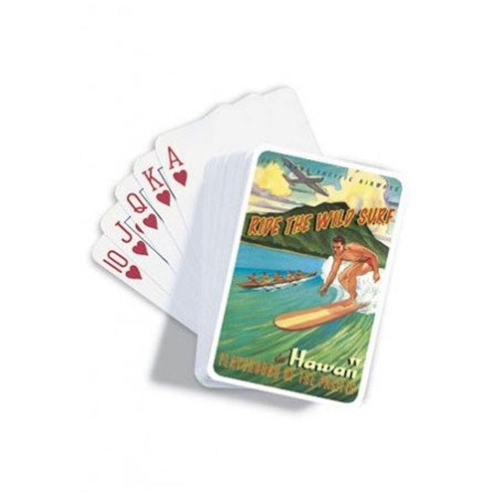 Amazon.com: Juego de cartas 2 Pack clásico playa hawaiana ...