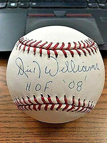 Signed Dick Williams Ball - OML ! Red Sox Padres ! ! - JSA Certified - Autographed Baseballs