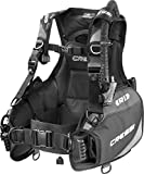 Cressi R1 Scuba Diving BCD Black/Grey XS