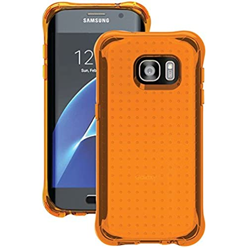 Ballistic, Galaxy S7 Edge Case [Jewel Neon] 6ft Drop Test Certified Case Protection [Neon Orange] Reinforced Bumper Cell Phone Case for Samsung Galaxy S7 Sales