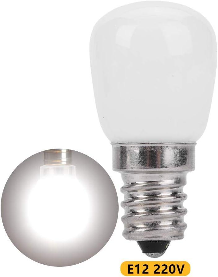 Riuty Bombilla FrigoríFica Led,200Lm E12 LáMpara De IluminacióN De Bajo Consumo para FrigoríFico Horno Microondas Ventilador De Cocina (Cold White 220v): Amazon.es: Hogar