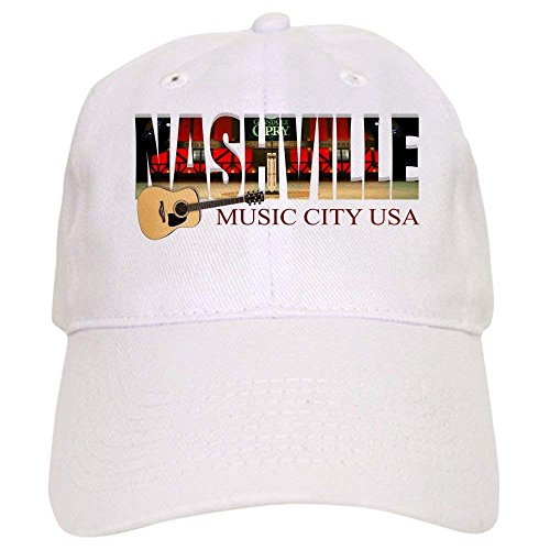 Nashville Music City USA Baseball - Baseball Cap with Adjustable Closure, Unique Printed Baseball Hat -