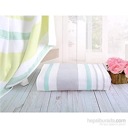 Serra Home Hotel y Spa toallas de rayas Aqua Lotus coresoft de 90 x 150 cm