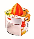 5 star juice extractor - Joie Squeeze and Pour Citrus Juicer and Glass, 4-Inches x 5-Inches x 5.75-Inches, 13.5-Ounce Capacity