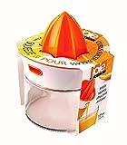 juicer squeeze - Joie Squeeze and Pour Citrus Juicer and Glass, 4-Inches x 5-Inches x 5.75-Inches, 13.5-Ounce Capacity