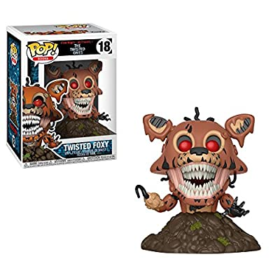 Funko POP! Books: Five Nights at Freddy's-Twisted Foxy Collectible Figure, Multicolor: Funko Pop! Books:: Toys & Games
