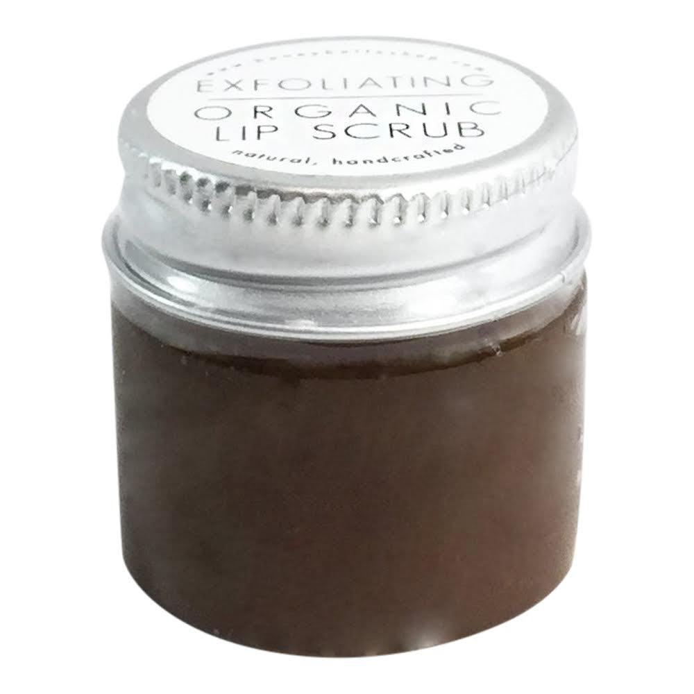 All Natural & Organic Brown Sugar Lip Scrub Treatment For All Sensitive And Dry Lips - By Honey Belle