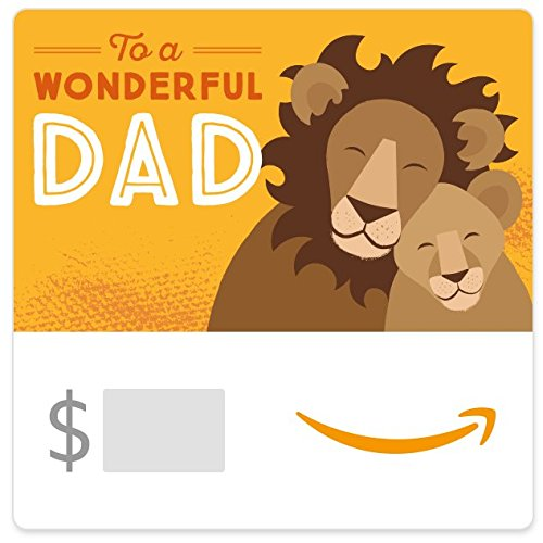 Amazon eGift Card - Wonderful Dad (Father's Day)