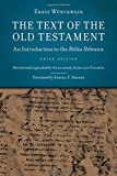 Text of the Old Testament, The: An Introduction to the Biblia Hebraica