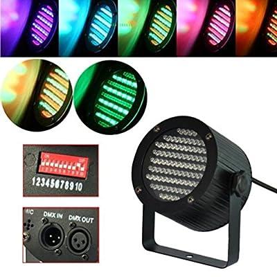 Ledona 10X Par Dmx-512 Dj Lighting 86 Rgb Led Stage Light Party Show Laser Projector Us