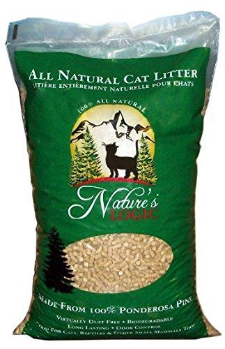 NATURE'S LOGIC 581927 Ponderosa Pine Cat litter, 24-Pound