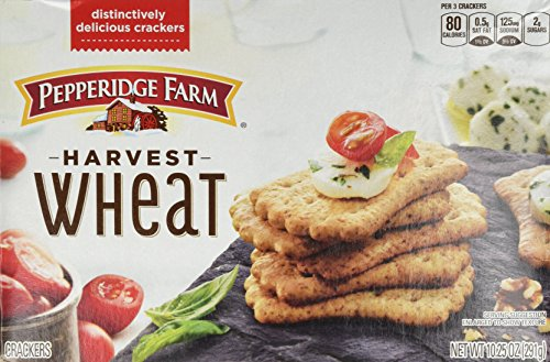(Pepperidge Farm Harvest Wheat Distinctive Crackers 10.25 oz (Pack of 2))