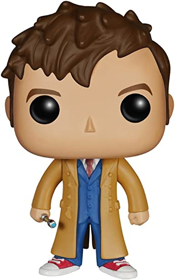 Tenth Doctor FUNKO POP Vinyl Figure PEZ: Doctor Who New Toy