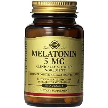 Solgar Melatonin Nuggets, 5 mg, 60 Count