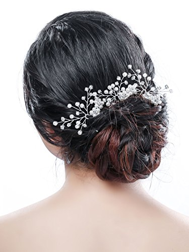 Bridalvenus Hair Pins Accessories - Wedding Bridal Jewelry for Women and Girls (3 Packs)