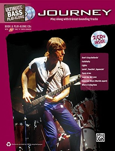 Bass Guitar Tab Cd (Ultimate Bass Play-Along Journey: Authentic Bass TAB, Book & 2 Enhanced CDs (Ultimate Play-Along))