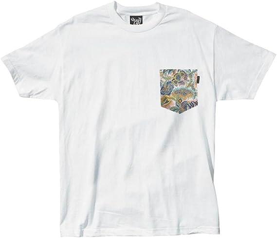 THE QUIET LIFE - Paisley Coral Pocket T - Camiseta Manga Corta Skate Hombre Color: White Talla: S: Amazon.es: Ropa y accesorios