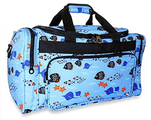 Ever Moda Fish Medium Duffle Bag