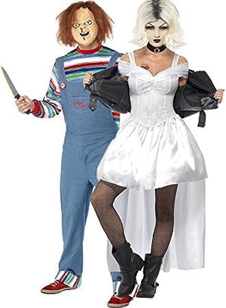 Fancy Me Parejas Damas Y Caballeros, Novia de Chucky Halloween ...
