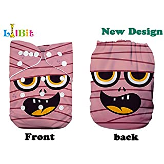 Lilbit Adjustable Reusable Halloween Print Baby Cloth Diaper (HA03)
