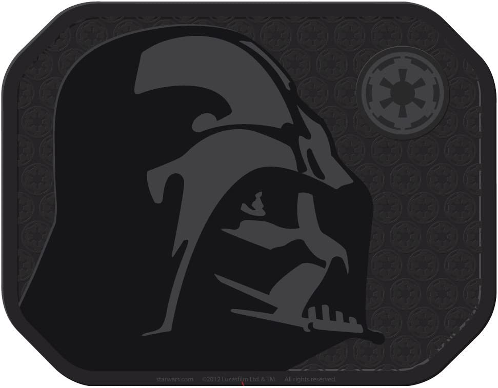 Star Wars Darth Vader with Galactic Empire Logo Car Truck SUV Front /& Rear Seat Rubber Floor Mats 4PC