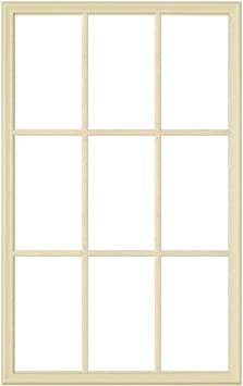 Odl Exterior Front Door Replacement Frame Set For 1 Thick Door Windows Home Improvement 24 X 38 9 Light Grid Pattern No Glass Included Amazon Com