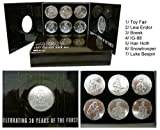 Star Wars 30th VINTAGE MAIL AWAY COIN SET TOY FAIR 2007