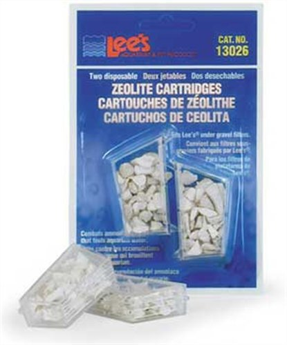 Lees Zeolite Cartridge  Disposable  2 Pack