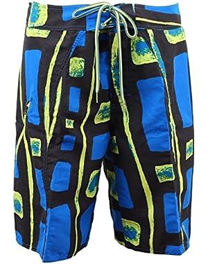 Mens Salton Omni Shade UV Board Shorts Swim Trunks 32