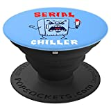 Funny Killer Refrigerator Serial Chiller - PopSockets Grip and Stand for Phones and Tablets