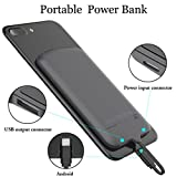Portable Power Bank Charger, External Backup Battery Pack 4000mAh with Micro USB Cable,Ultra Slim Power Bank Compatible for Samsung Galaxy S6/S7 Edge/S6 Edge/A9,Nokia 6,HTC M9-Black