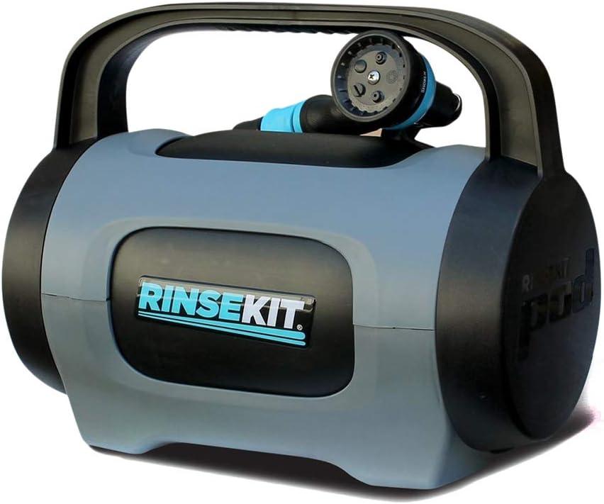 RinseKit Douche Portable Unisexe Plus Noir//Bleu Taille Unique