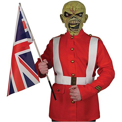 Iron Maiden Men's The Trooper Men's Halloween Costume Costume Small (Iron Maiden Halloween)