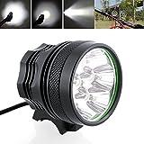 Bike HeadLight,8000 lumen 7x Cree XM-L T6 MTB Mountain Bike Bicycle Cycling Head Light Headlamp (7LED Black)