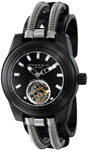 Android Men's AD700BK Hydraumatic G7 Analog Display Automatic Self Wind Black Watch