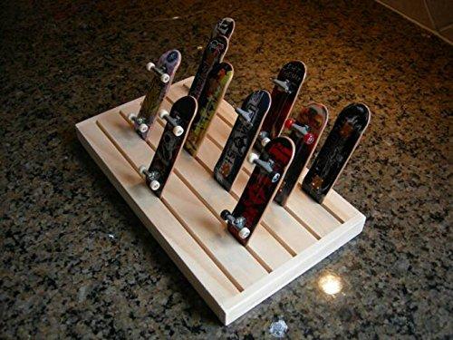 Finger Board Mini Skateboard Display Rack Storage