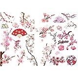 Seasonstorm Pink Sakura Cherry Blossoms Precut