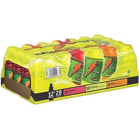 Gatorade All Stars-(Eight Lemon Lime, Eight Fruit Punch, Eight Orange) Variety Pack! 24/12 Oz