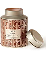 LA JOLIE MUSE Tobacco Vanilla Scented Candle for Man Woman,13oz Large Soy Candle, Birthday Candle Gifts for Men, Holiday Candle