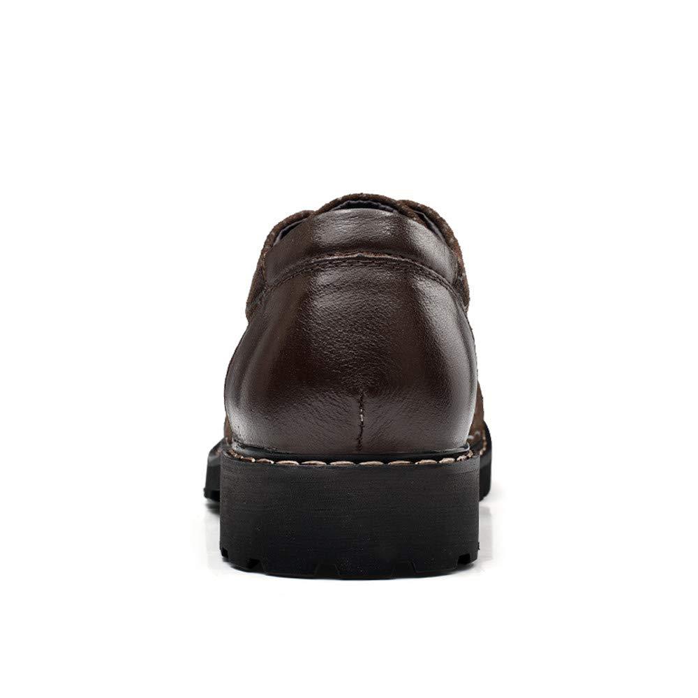 Dundun-schuhe 2018 Herren Persönlichkeit geprägt geprägt geprägt OX Leder weich und geschmeidig Business Oxford Casual Formale Schuhe (Farbe   Braun, Größe   39 EU) ccf31d