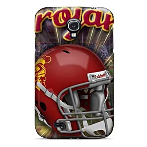 Defender Case With Nice Appearance (usc Trojans) For Galaxy S4