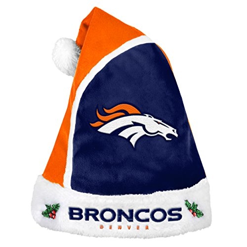 (NFL Denver Broncos Basic Santa Hat)