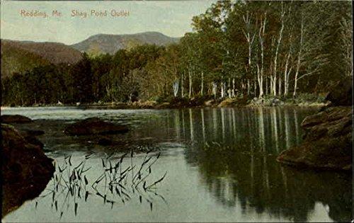 Shag Pond Outlet Redding, Maine Original Vintage - Outlets Redding