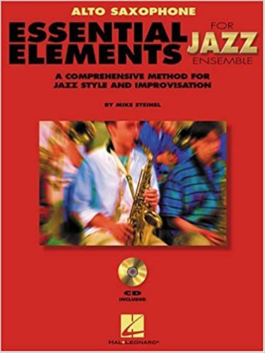 Essential Elements for Jazz Ensemble (Alto Saxophone): A Comprehensive Method for Jazz Style and Improvisation