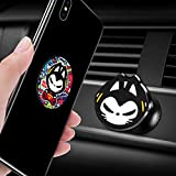 Car Phone Holder, ZHUAIMAO 360°Rotation Cat Design Universal Magnetic Dashboard Phone Mount Holder for Samsung iPhone and Nexus Sony Nokia etc