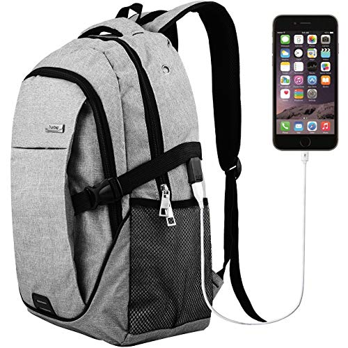 Laptop Backpack Travel Accessories Daypack for Men Women,Large Lightweight School College Book bag with Computer Notebook Sleeves and usb Charging Port for Business Hiking Traveling Airplane Backpacks