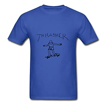 4fd8edf9 Thrasher (peter Parker, Amazing Spider-man 2) Custom Funny Xxx-large Blue T  Shirt By Cathybarrett Personalized For Men: Amazon.ca: Sports & Outdoors