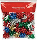 Berwick Traditional Bows Assorted Colors 48 Count